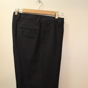 34x32 Dockers Plaid Patterned Brown Dress Pants